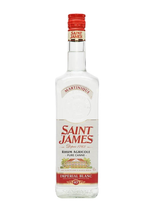 Saint James Imperial Blanc Rum Single Traditional Column Rum