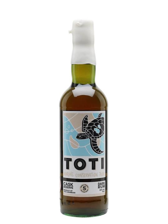 Toti Cask Reserve Dark Rum Blended Modernist Rum