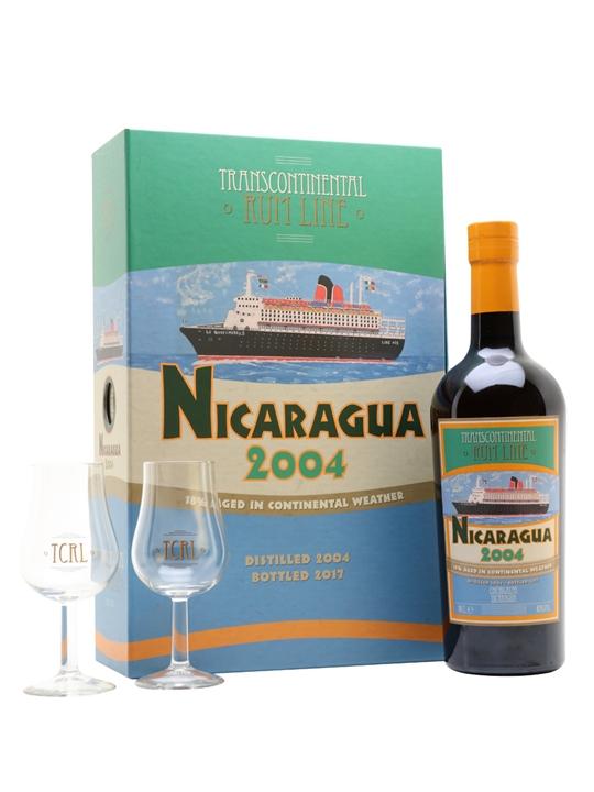 Nicaragua 2004 Rum / 2 Glass Pack / Transcontinental