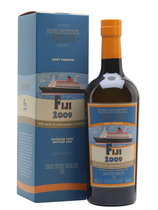 Fiji 2009 / Transcontinental Rum Line Single Traditional Pot Rum