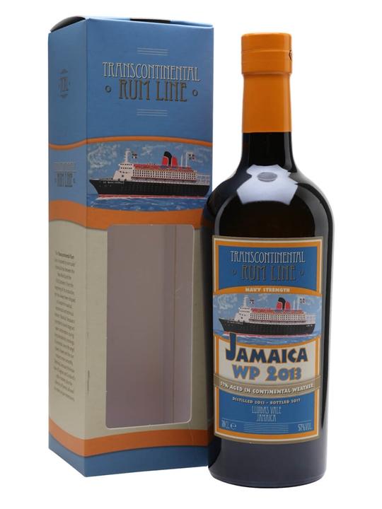 Jamaica WP 2013 Navy Transcontinental Rum Line