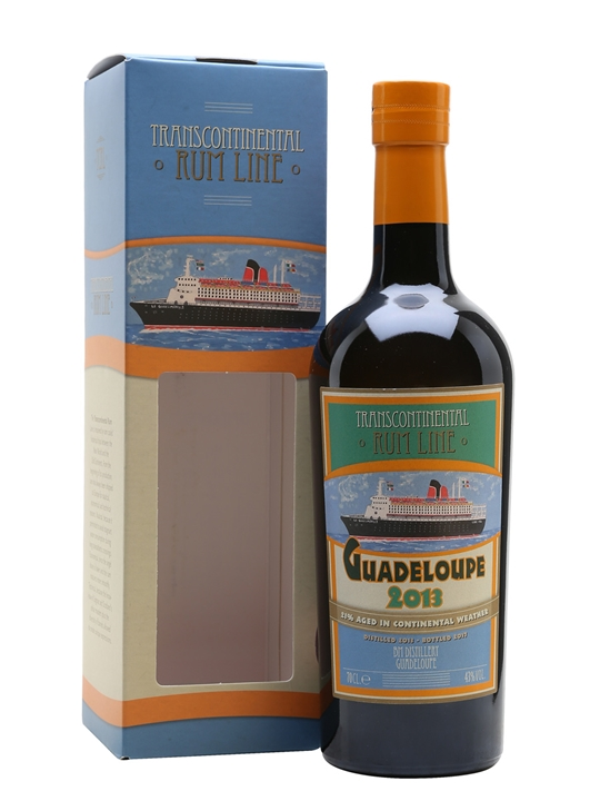 Guadeloupe 2013 Rum / Transcontinental Single Traditional Column Rum
