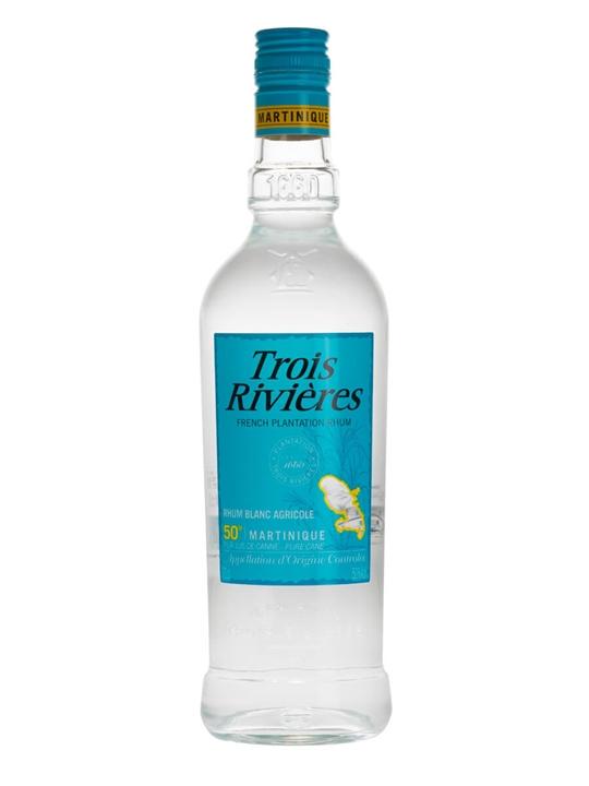 Trois Rivieres Blanc Rum Single Traditional Column Rum