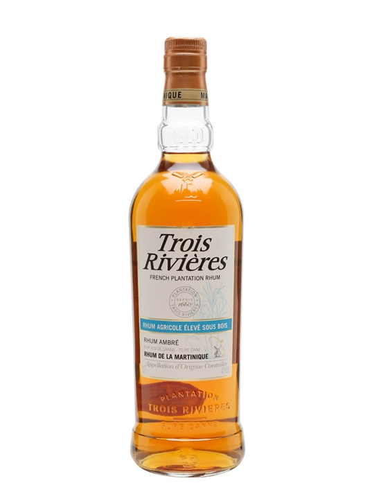 Trois Rivieres Ambre Rum Single Traditional Column Rum