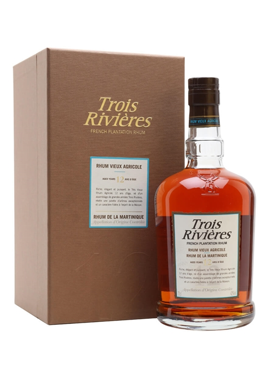 Trois Rivieres 12 Year Old Single Traditional Column Rum