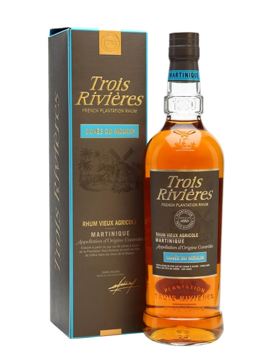 Trois Rivieres Cuvee Du Moulin Rum Single Traditional Column Rum