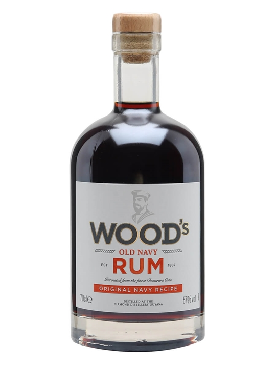 Wood's Old Navy Rum Single Modernist Rum