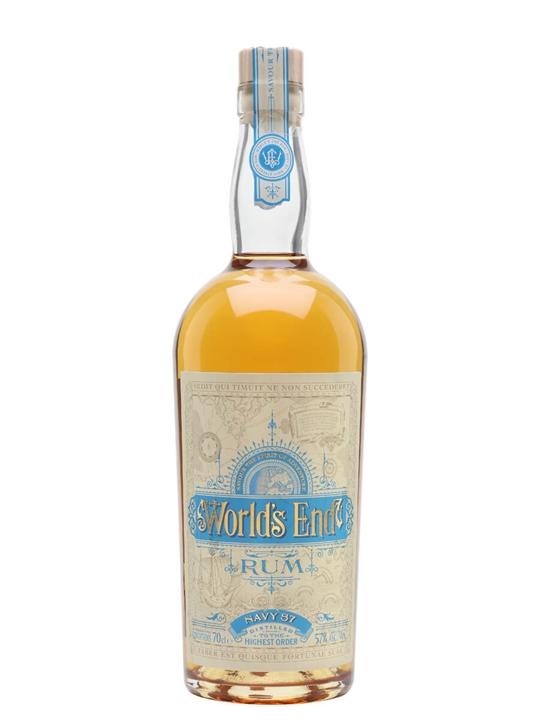 World's End Navy Rum Blended Modernist Rum