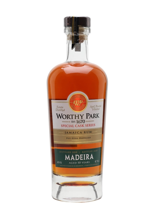 Worthy Park Reserve 2010 Madeira Cask Finish / 10 Year Old