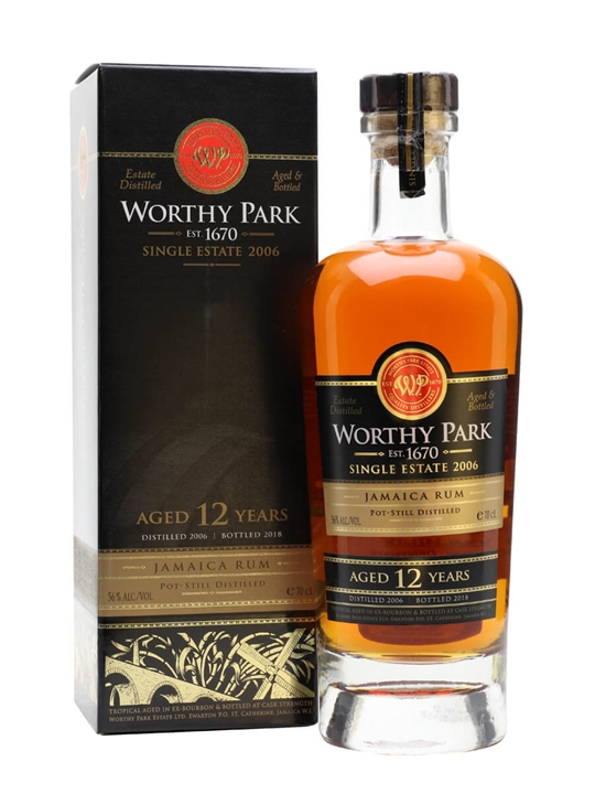 Worthy Park 2006 Rum / 12 Year Old Single Traditional Pot Rum