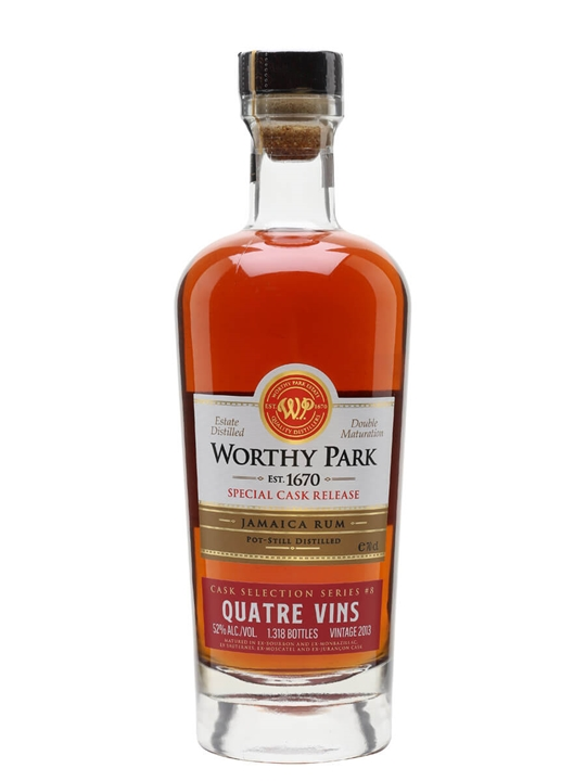 Worthy Park 2013 / Quatre Vin Cask Finish Rum