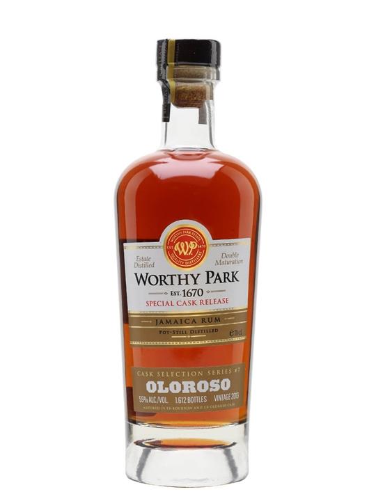 Worthy Park 2013 / Oloroso Cask Finish Rum Single Traditional Pot Rum