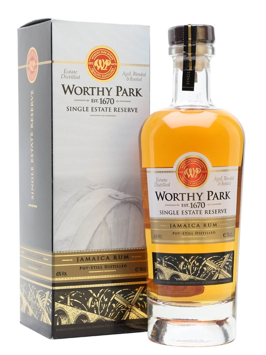 Worthy Park Single Estate Reserve Single Traditional Pot Rum