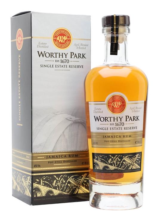Worthy Park Single Estate Reserve Single Traditional Pot Rum