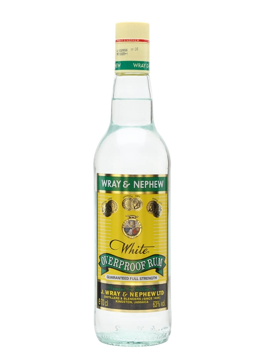 Wray & Nephew Overproof Rum Single Traditional Blended Rum