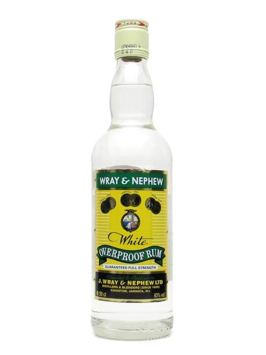 Wray & Nephew Overproof Rum / Half Litre