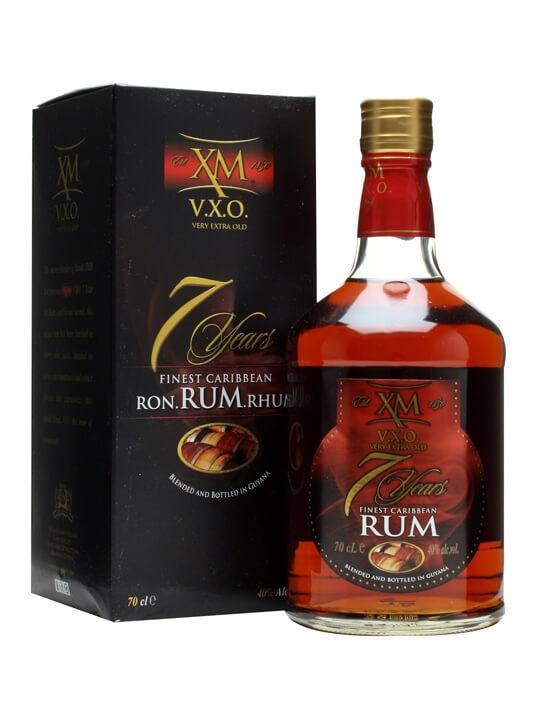 XM VXO Rum 7 Year Old Blended Modernist Rum