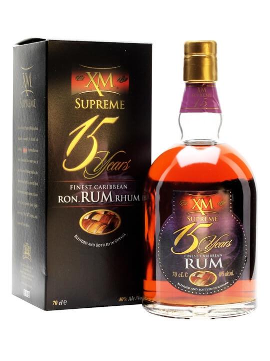 XM Supreme 15 Year Old Rum Blended Modernist Rum