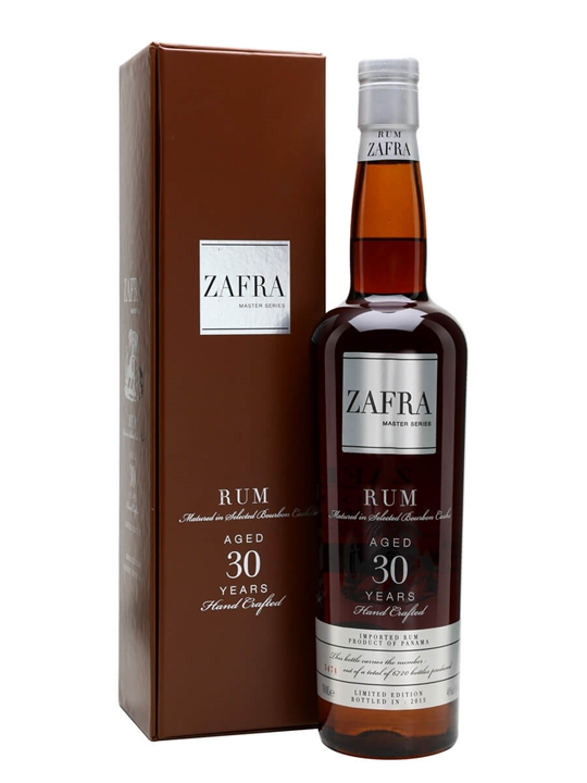 Zafra 30 Year Old Single Traditional Column Rum