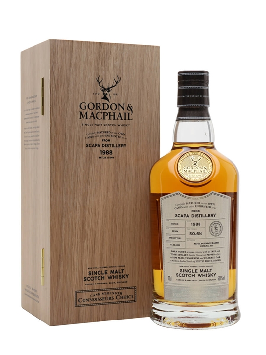 Scapa 1988 / 32 Year Old / Connoisseurs Choice Island Whisky