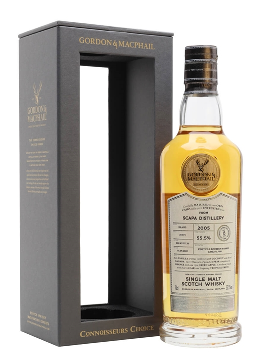 Scapa 2005 / 15 Year Old / Connoisseurs Choice Island Whisky