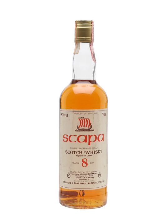 Scapa 8 Year Old / G&M / Bot.1980s Island Single Malt Scotch Whisky