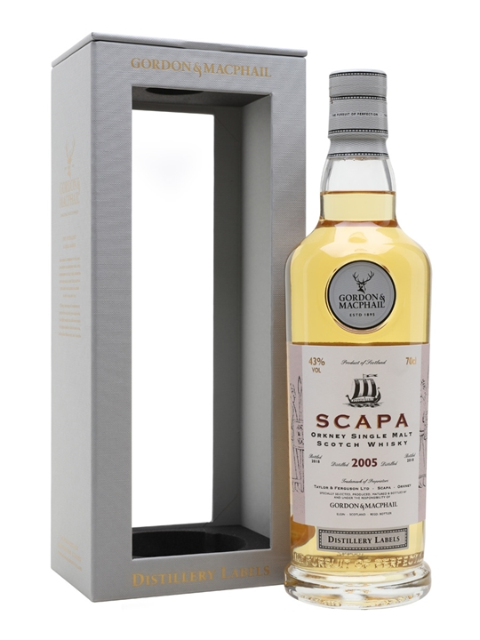 Scapa 2005 / Bot.2018 / G&m Distillery Labels Island Whisky