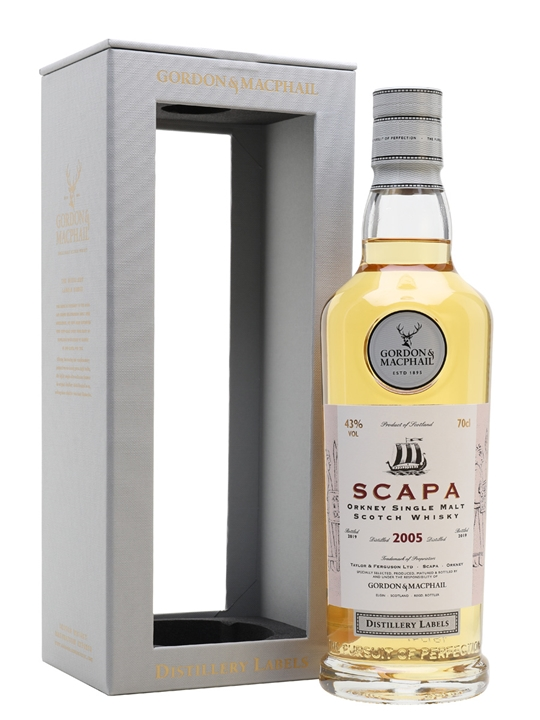 Scapa 2005 / Bot.2019 / G&m Distillery Labels Island Whisky
