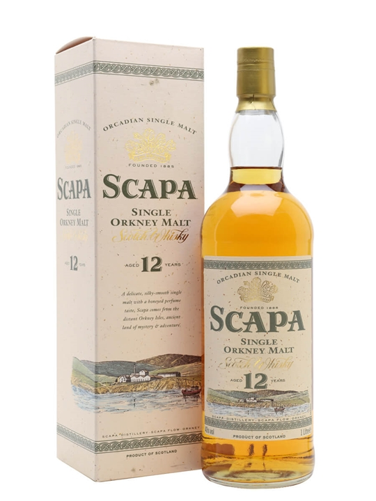 Scapa 12 Year Old / Bot.1990s Island Single Malt Scotch Whisky