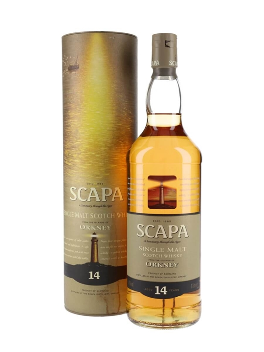 Scapa 14 Year Old / Litre Island Single Malt Scotch Whisky