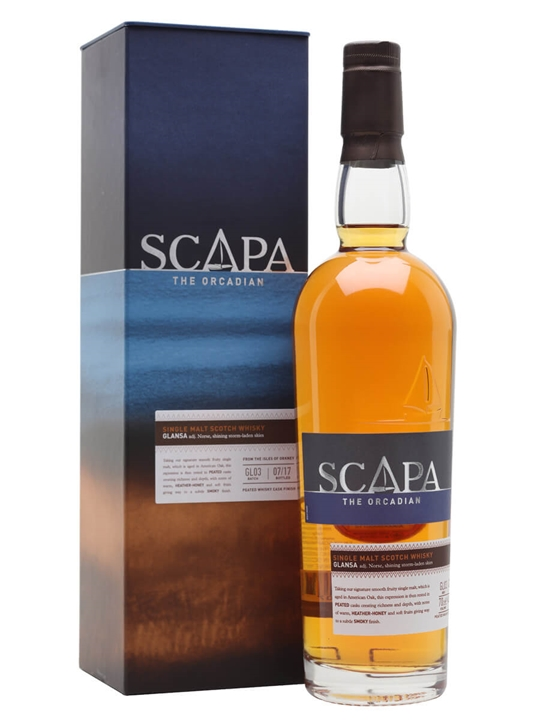 Scapa Glansa Island Single Malt Scotch Whisky