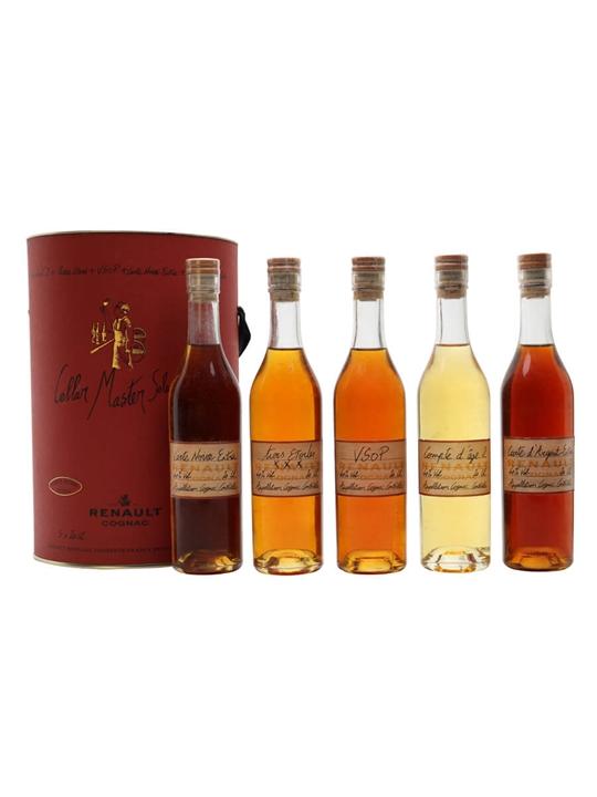 Renault Cognac Cellar Master Selection Set