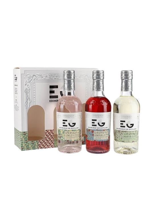 Edinburgh Gin Fruit Liqueur Triple Pack / 3x20cl