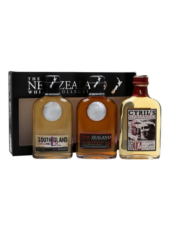 New Zealand Whisky Triple Pack / 3x20cl