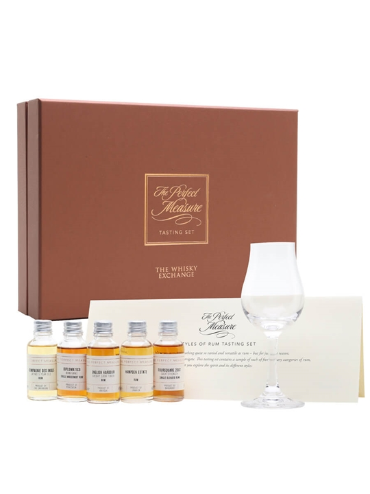 Styles of Rum Tasting Set / 5x3cl