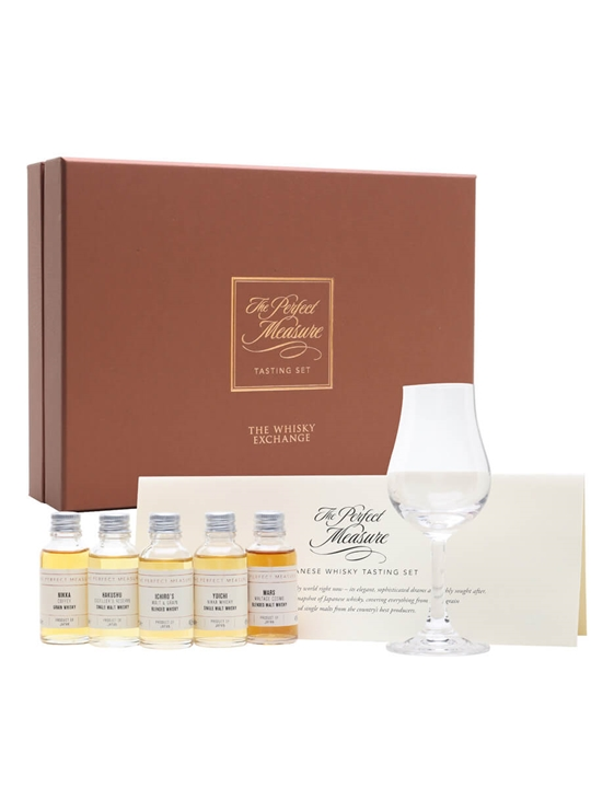 Japanese Whisky Tasting Set / 2020 Edition / 5x3cl