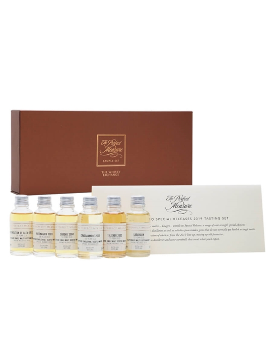 Diageo Special Releases 2019 Tasting Set / 6x3cl Single Whisky