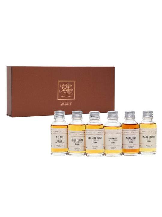 The Many Faces of Cognac Virtual Cognac Show Tasting Set / 6x3cl