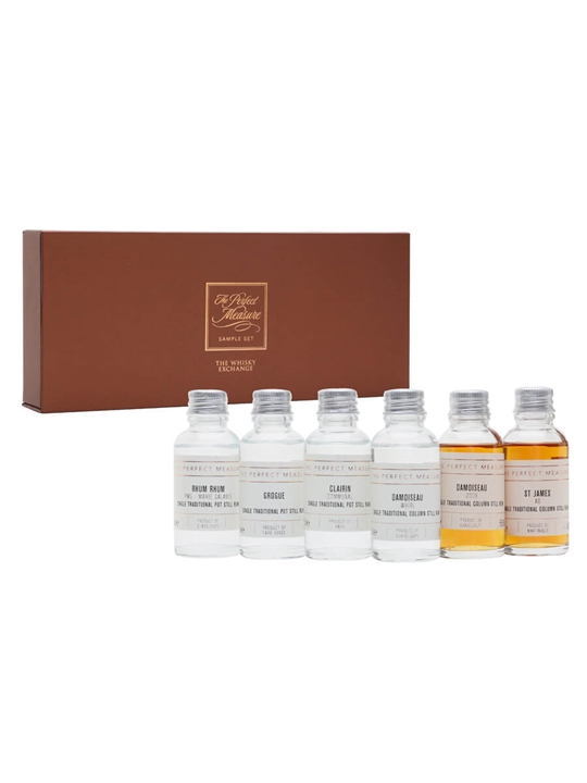 Let's Talk Sugarcane Rum Tasting Set / 6x3cl