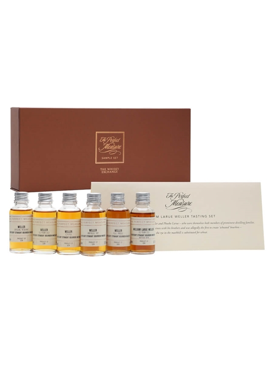 W L Weller Bourbon Gift Set / 6x3cl Kentucky Straight Bourbon Whiskey