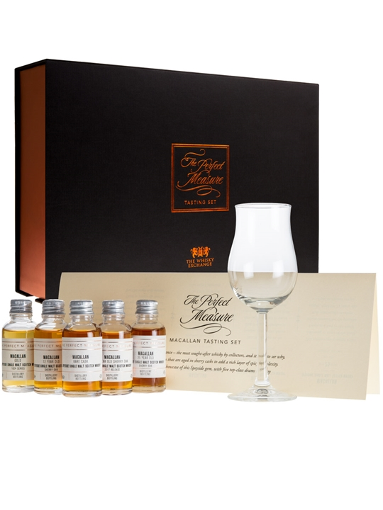 Macallan Gift Set / 5x3cl Speyside Single Malt Scotch Whisky