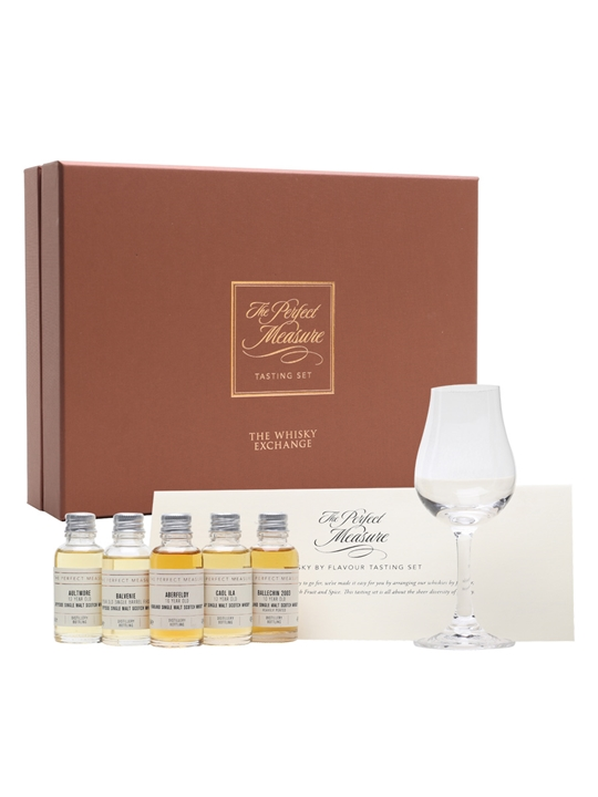 Scotch Whisky By Flavour Gift Set / 2nd Edition / 5x3cl Single Whisky