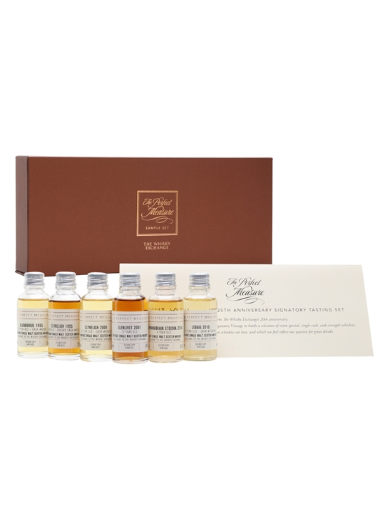 20th Anniversary Signatory Exclusive Whisky Gift Set / 6x3cl