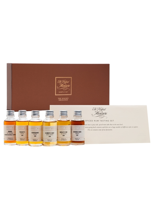 Spiced Rum Gift Set / 6x3cl