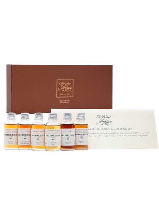 Single Barrel Selection Rum Gift Set / 6x3cl