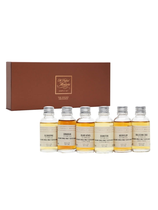 Discover Scotland: Southern Highlands Tasting Set / 6x3cl Highland Whisky