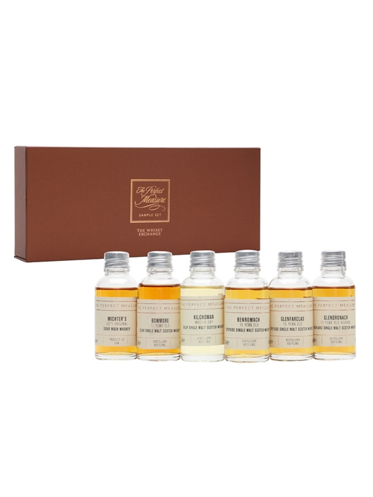 The Whisky Exchange Past Whisky of the Year Winners Tasting Set / 6x3cl