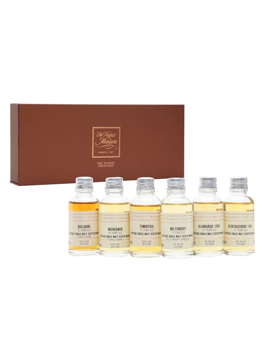 Discover Scotland: Secret Speyside Tasting Set / 6x3cl Speyside Whisky