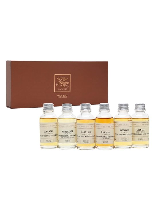 Debunking Regionality Tasting Set / 6x3cl Single Malt Scotch Whisky