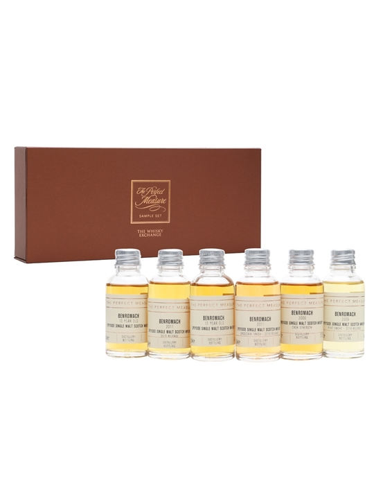 Benromach Tasting Set / 6x3cl Speyside Single Malt Scotch Whisky